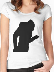 Nosferatu's shadow Women's Fitted Scoop T-Shirt