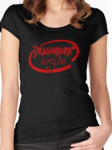 Dragonborn Inside Women's Fitted Scoop T-Shirt