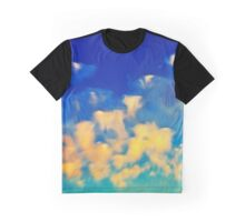 Abstract blue sky and clouds Graphic T-Shirt
