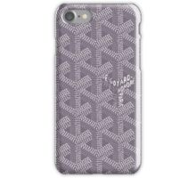 Goyard Perfect Case grey iPhone Case/Skin