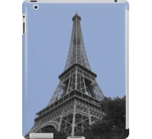 Eiffel tower in serenity iPad Case/Skin