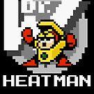 Heatman with text (White) by Funkymunkey