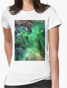 F003 Womens Fitted T-Shirt