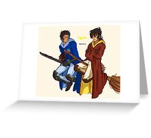 VOLTRON Quidditch Rivals Greeting Card