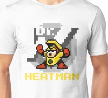 Heatman with text (Yellow) Unisex T-Shirt