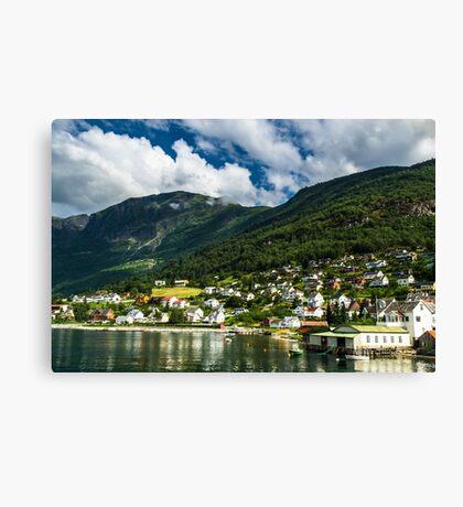 Norwegian nature Canvas Print