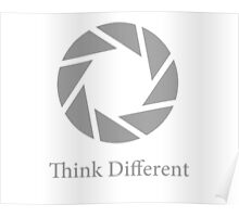 Aperture Science, Think Different Poster
