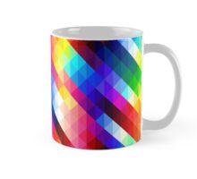 Colorful Triangle Pattern Mug