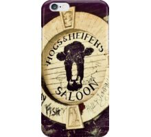 Hogs and Heifers, NYC iPhone Case/Skin