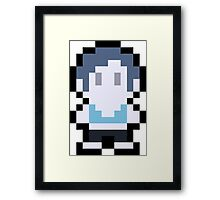 Pixel Wii Fit Trainer Framed Print