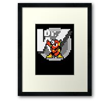 Metalman Framed Print