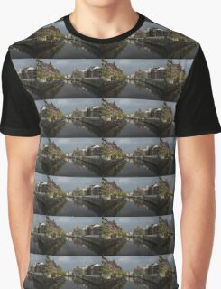Amsterdam - Singel Canal With the Floating Flower Market Graphic T-Shirt