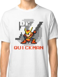 Quickman with text (Red) Classic T-Shirt