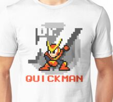 Quickman with text (Red) Unisex T-Shirt