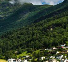 Norwegian nature Sticker