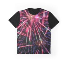 Fireworks Explosion 1 Graphic T-Shirt