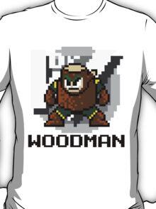 Woodman with text (Black) T-Shirt