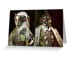 The Eye Collectors. Greeting Card