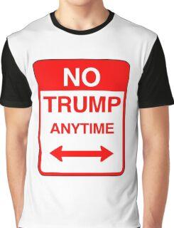 No Trump Anytime Graphic T-Shirt