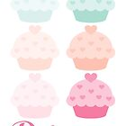 Delicious Cupcake by dollmadeinjapan