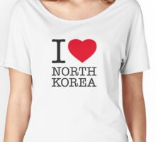 I ♥ NORTH KOREA Women's Relaxed Fit T-Shirt