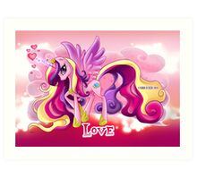 Equestria Elements - The Love Art Print