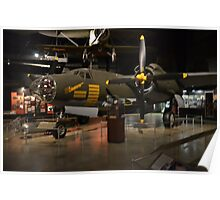 """Martin B-26G """"Marauder""""  Bomber Poster"""