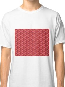 Goyard Perfect Case red Classic T-Shirt