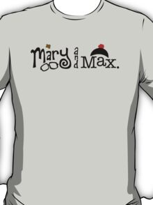 Mary and Max (black) T-Shirt