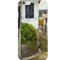 Waling over carpets of flowers iPhone Case/Skin
