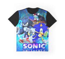 Sonic & Werehog Graphic T-Shirt