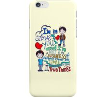 """The Fault In Our Stars (TFIOS) - """"I'm In Love With You..."""" iPhone Case/Skin"""