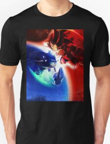 Sonic vs Shadow Unisex T-Shirt