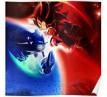 Sonic vs Shadow Poster