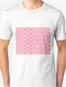 Goyard Perfect Case pink Unisex T-Shirt