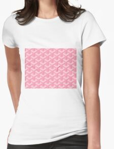 Goyard Perfect Case pink Womens Fitted T-Shirt