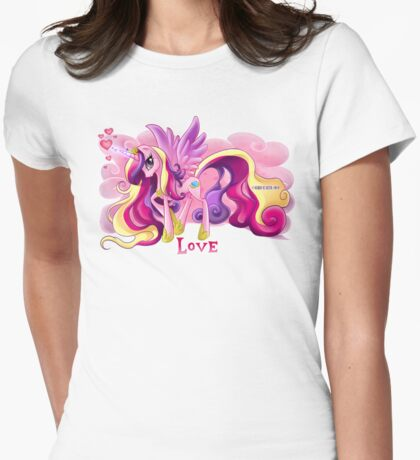 Equestria Elements - The Love Womens Fitted T-Shirt