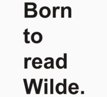 Born to Read Wilde Kids Clothes