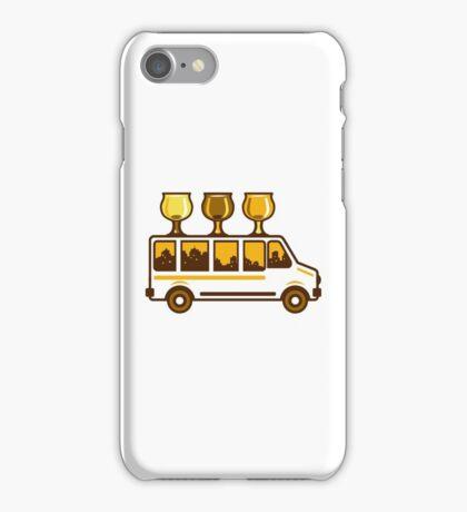 Beer Flight Glass Van Retro iPhone Case/Skin