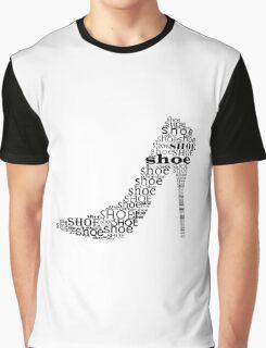 Typographic Shoe Graphic T-Shirt