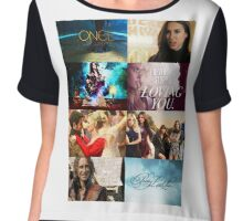 Ouat and Pll Chiffon Top
