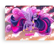 Equestria Elements - The Magic Canvas Print