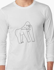 DICKS OUT FOR HARAMBE Long Sleeve T-Shirt