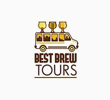 Beer Flight Glass Van Best Brew Tours Retro Unisex T-Shirt