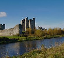 medieval Trim Castle  by Declan Carr