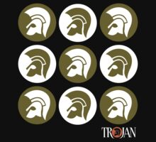 TROJAN RECORDS CAMO COLOR Kids Tee