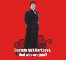 Captain Jack Harkness : Who are you ? Baby Tee
