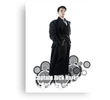 Captain Jack Harkness : Who are you ? Canvas Print
