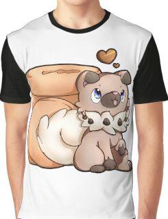 Rockruff Doughnuts Graphic T-Shirt