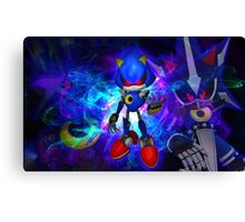 Metal Sonic Canvas Print